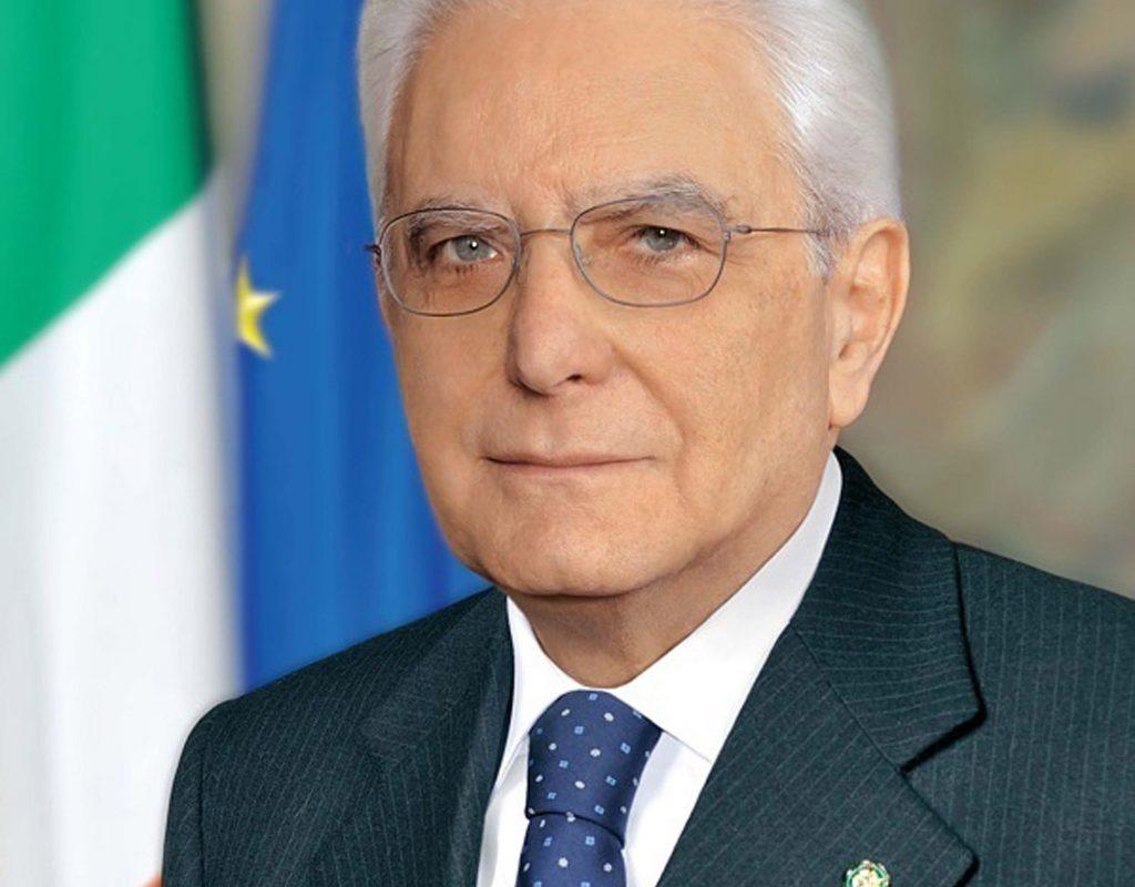 Sergio Mattarella, Presidente della Repubblica Italiana (Foto tratta da quirinale.it)