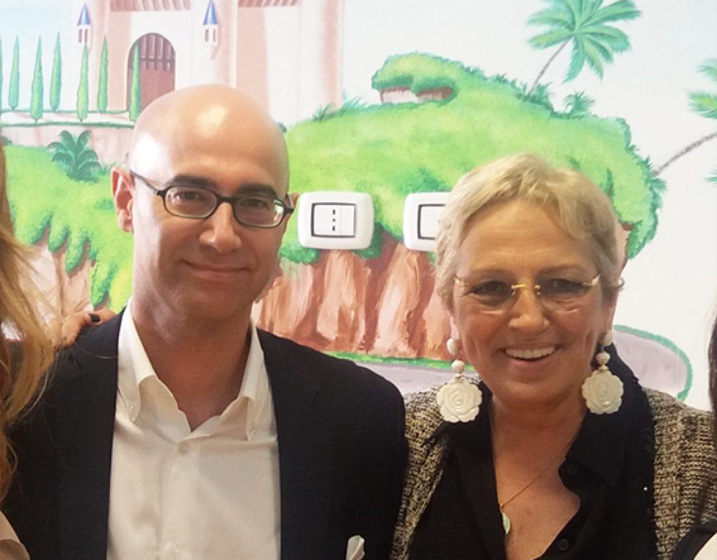 Silvio Irilli con Anna Maria Alfani