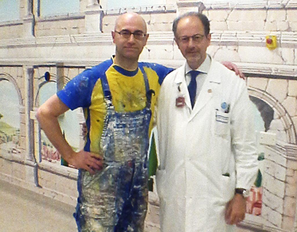 Silvio Irilli con il Prof. Valentini