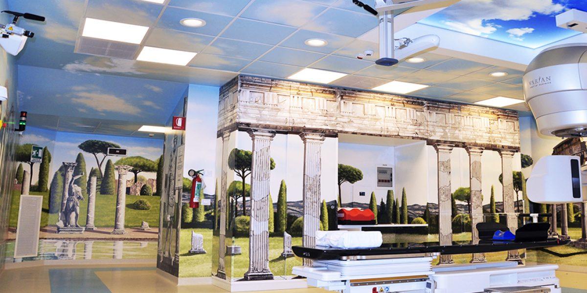 radioterapia-villa-adriana-policlinico-gemelli-ospedali-dipinti-silvio-irilli