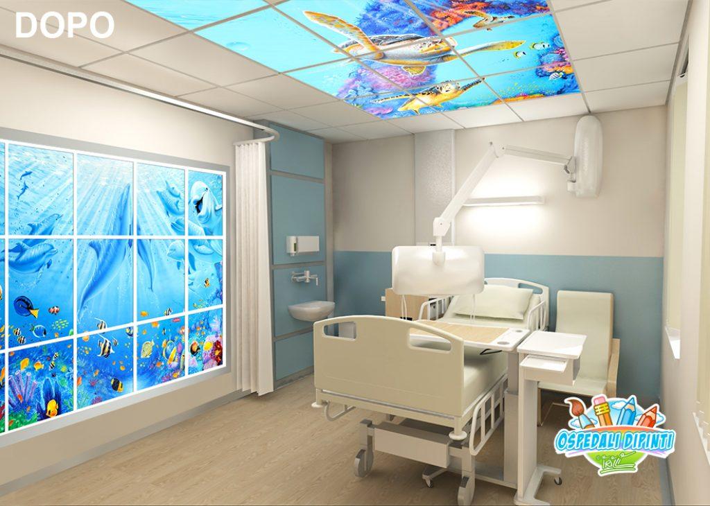 sala_ricovero_degenza_acquario_murales_ospedali_dipinti