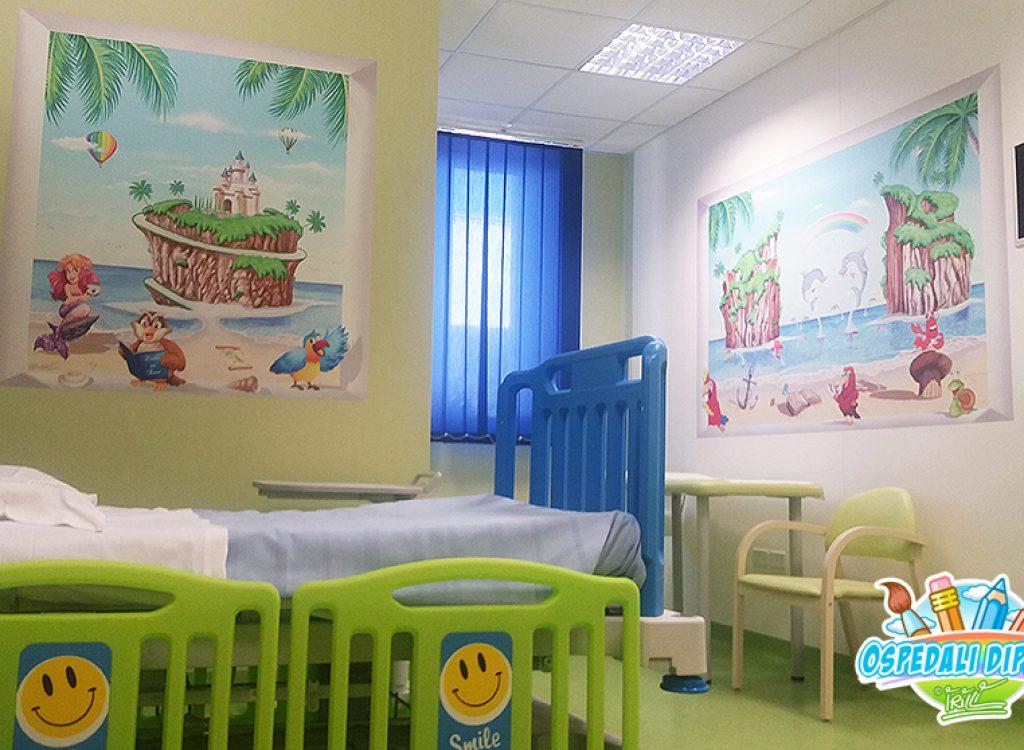 sala_ricovero_degenza_murales_ospedali_dipinti